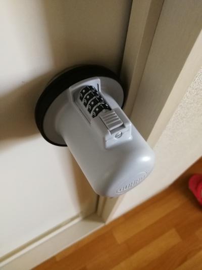 ドアの丸ノブ対策5