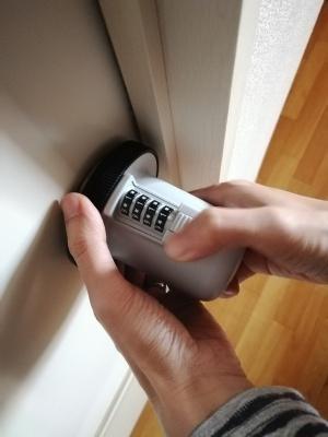 ドアの丸ノブ対策6