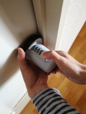 ドアの丸ノブ対策8
